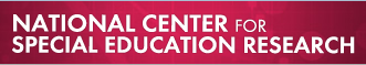 National Center for Special Education Research logo